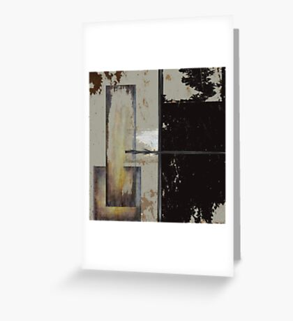 ReStacked  Greeting Card