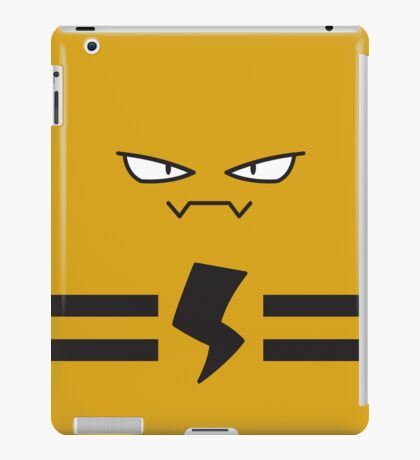 Pokemon Portraits - Elekid iPad Case/Skin