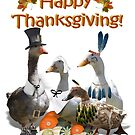 Happy Thanksgiving from Ducks and Geese! by Gravityx9