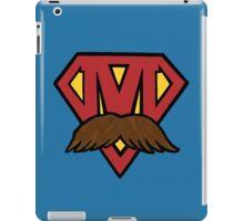 superheroes for men's health iPad Case/Skin