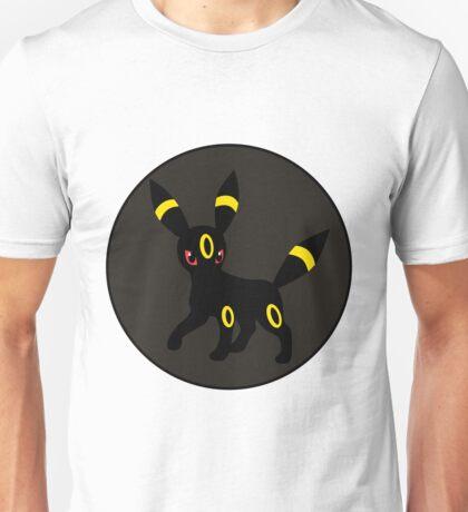 Flat Pokemon #197 - Umbreon Unisex T-Shirt