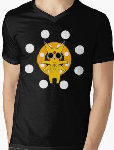 Pikachu's Trip - one circle Mens V-Neck T-Shirt