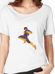 Captain Falcon Knee Women's Relaxed Fit T-Shirt