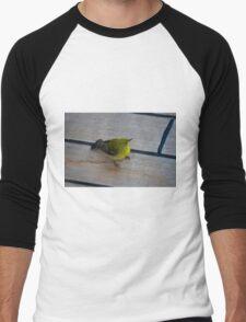 Just a crumb will do Men's Baseball ¾ T-Shirt