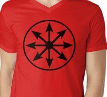 Chaos Star Mens V-Neck T-Shirt