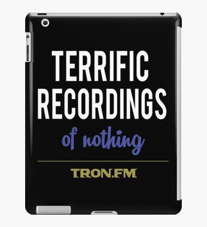 Terrific Recordings of Nothing iPad Case/Skin