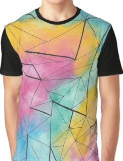 Rainbow triangles patterns Graphic T-Shirt