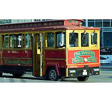 Vancouver Trolley Photographic Print