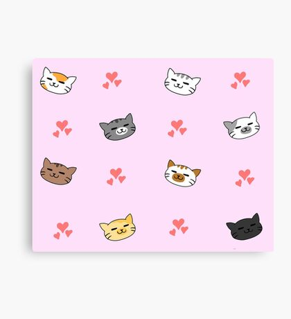 Kittens!! Canvas Print