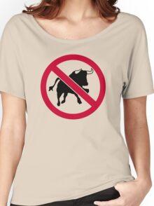 No bulls Women's Relaxed Fit T-Shirt