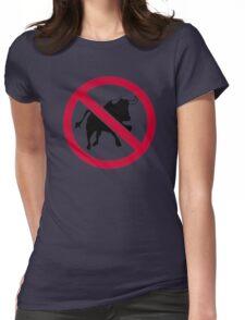 No bulls Womens Fitted T-Shirt