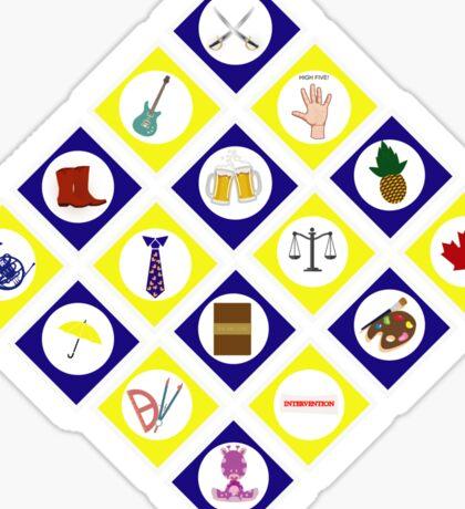 HIMYM MINIMALIST Sticker