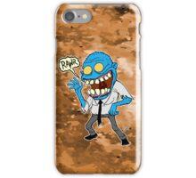 Frisky Blue Zombie iPhone Case/Skin