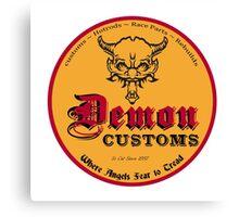 Demon Customs Hot Rod Canvas Print