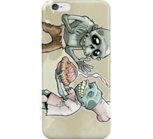 Zombies Share Pie iPhone Case/Skin