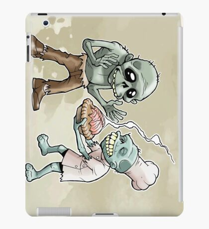 Zombies Share Pie iPad Case/Skin