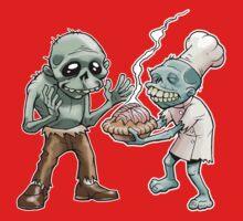 Zombies Share Pie Kids Tee