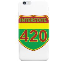 Interstate 420 Rasta Rastafarian iPhone Case/Skin