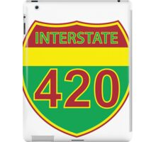Interstate 420 Rasta Rastafarian iPad Case/Skin