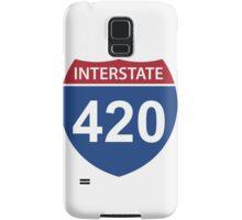 Interstate 420 Samsung Galaxy Case/Skin