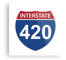 Interstate 420 Metal Print