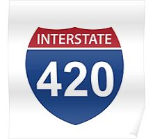 Interstate 420 Poster