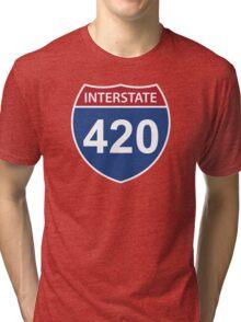 Interstate 420 Tri-blend T-Shirt
