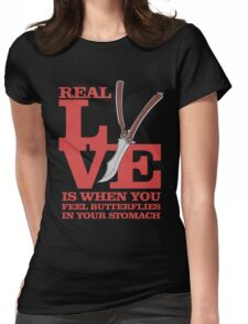The Real Love Womens Fitted T-Shirt