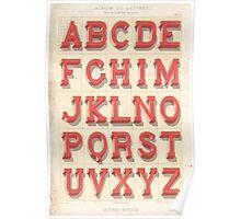 Alphabet Poster