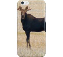 "Nice Young Bull Moose...""I'm a Handsome Dude"" iPhone Case/Skin"