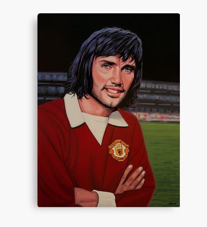 George Best Painting Canvas Print