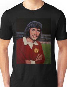 George Best Painting Unisex T-Shirt