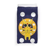 Pikachu's Trip - one circle Duvet Cover