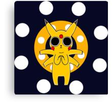 Pikachu's Trip - one circle Canvas Print
