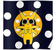 Pikachu's Trip - one circle Poster