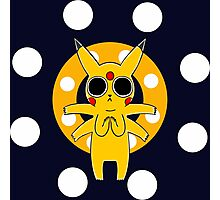 Pikachu's Trip - one circle Photographic Print
