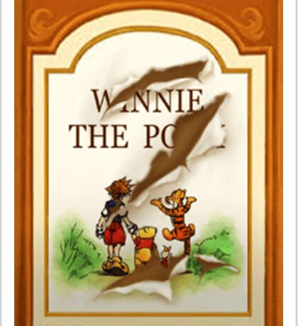 KH Winnie the pooh Sticker
