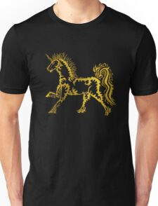 Golden Unicorn - Dark Unisex T-Shirt