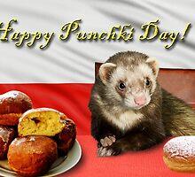 Punchki Day Ferret by jkartlife