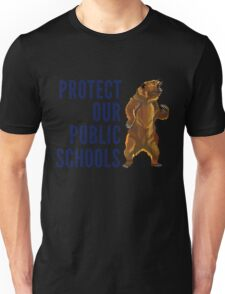 Protect Our Public Schools - Grizzly Bear Image Unisex T-Shirt