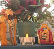 Window Nativity by Kathy Rogers-Hartley
