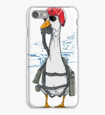 There's Two O's In Goose Boys Funny Goose Shirt iPhone Case/Skin