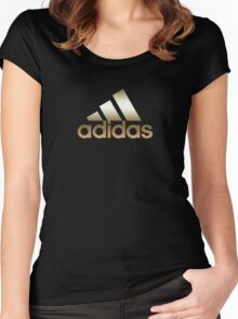 adidas Women's Fitted Scoop T-Shirt