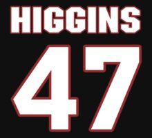 NFL Player Mike Higgins fortyseven 47 by imsport
