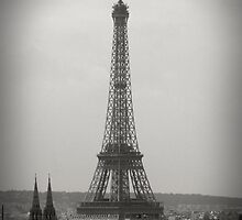 La Tour Eiffel by adamgamm