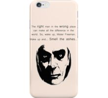 Gman | The right man... iPhone Case/Skin