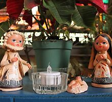 Mexican Window Nativity by Kathy Rogers-Hartley