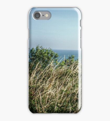 Approaching the Coastal Path iPhone Case/Skin