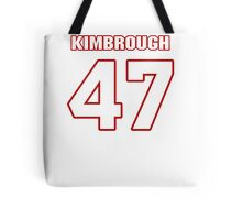 NFL Player Jeremy Kimbrough fortyseven 47 Tote Bag