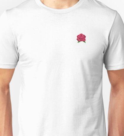 Neon Pink Rose Unisex T-Shirt